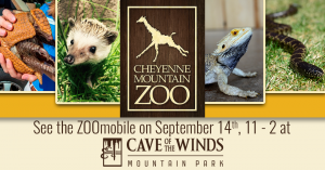 Cheyenne Mountain ZOOMobile at Cave of the Winds presented by Cave of the Winds at Cave of the Winds, Manitou Springs CO