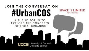 Urban COS presented by Urban COS at UCCS Downtown, Colorado Springs CO