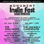 Monument Indie Fest presented by Tri Lakes Radio at Western Museum of Mining and Industry, Colorado Springs CO