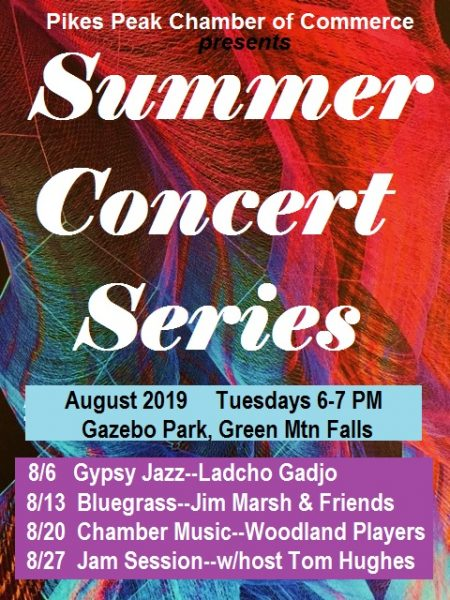 Green Mountain Falls Summer Concert Series