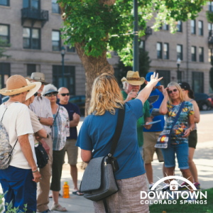 Downtown Walking Tour presented by Downtown Partnership of Colorado Springs at The Wild Goose Meeting House, Colorado Springs CO
