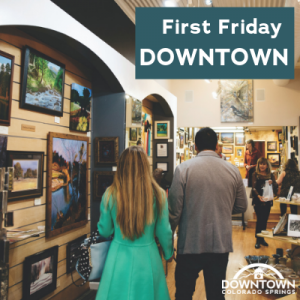 First Friday Downtown presented by Downtown Partnership of Colorado Springs at Downtown Colorado Springs, Colorado Springs CO