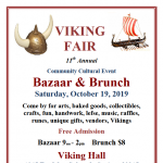 Viking Fair Bazaar and Brunch presented by Fjellheim Lodge, Sons of Norway, Colorado Springs at Viking Hall, Colorado Springs, Colorado Springs CO