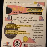 Blast from the Past 70's and 80's Dance presented by Pikes Peak USA Dance Chapter #5020 at Immanuel Lutheran Church, Colorado Springs CO