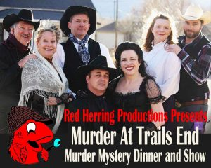 'Murder at Trail's End' Murder Mystery Dinner and Show presented by Stargazers Theatre & Event Center at Stargazers Theatre & Event Center, Colorado Springs CO