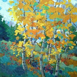 'The Aspen Show' presented by Laura Reilly Fine Art Gallery and Studio at Laura Reilly Studio, Colorado Springs CO