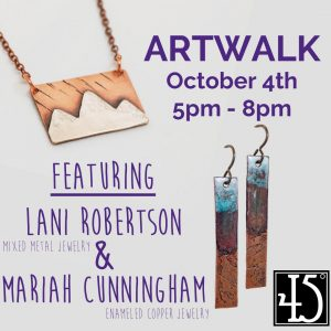 Mariah Cunningham & Lani Robertson presented by 45 Degree Gallery at 45 Degree Gallery, Colorado Springs CO