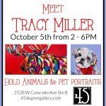 Meet Tracy Miller & Watch Her Paint presented by 45 Degree Gallery at 45 Degree Gallery, Colorado Springs CO