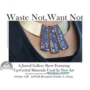 Waste Not, Want Not presented by Commonwheel Artists Co-op at Commonwheel Artists Co-op, Manitou Springs CO