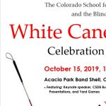 White Cane Day presented by Acacia Park at Acacia Park, Colorado Springs CO