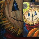 Spooky Scarecrow Class presented by Brush Crazy at Brush Crazy, Colorado Springs CO