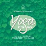 Yoga in the Park presented by SunWater Spa at Memorial Park, Manitou Springs, Manitou Springs CO