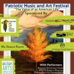 Patriotic Music and Art Festival: 'The Value of an American Life' presented by Pikes Peak Music Teachers Association at The Citadel Mall, Colorado Springs CO