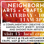 Neighborhood Arts and Crafts Crawl presented by New Earth Beads at ,