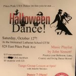 Halloween Dance presented by Pikes Peak USA Dance Chapter #5020 at ,