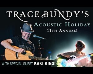 Trace Bundy's 11th Annual Acoustic Holiday with Kaki King presented by Stargazers Theatre & Event Center at Stargazers Theatre & Event Center, Colorado Springs CO