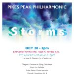 Storms presented by Pikes Peak Philharmonic at Ent Center for the Arts, Colorado Springs CO