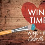 Wine and Paint presented by Color Me Mine at Chapel Hills Mall, Colorado Springs CO