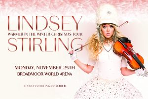 Lindsey Stirling presented by Broadmoor World Arena at The Broadmoor World Arena, Colorado Springs CO