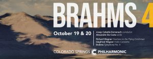 Brahms 4 presented by Pikes Peak Center for the Performing Arts at Pikes Peak Center for the Performing Arts, Colorado Springs CO