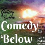 Poetry 719 Festival: Comedy Below with Andrew Ingram presented by Poetry 719 at The Gallery Below, Colorado Springs CO