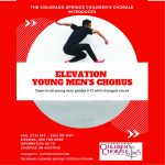 Auditions for Elevation Young Men's Chorus presented by Colorado Springs Children's Chorale at ,