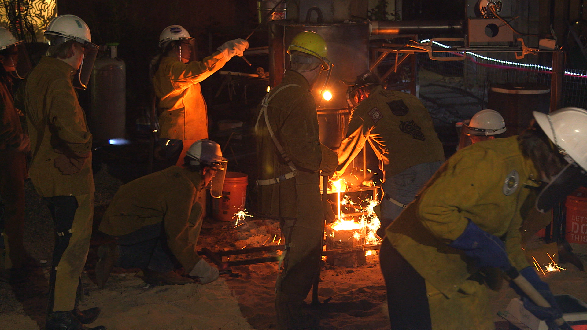 Bliss Iron Pour 2019 presented by Bliss Studio and Gallery at ,