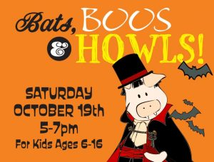 Bats, Boos, and Howls presented by Colorado Wolf & Wildlife Center at Colorado Wolf & Wildlife Center, Divide CO