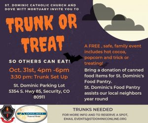 Trunk or Treat, So Everyone Can Eat! presented by Trunk or Treat, So Everyone Can Eat! at ,