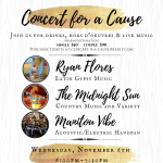 Concert for a Cause presented by Warehouse Restaurant & Gallery at Warehouse Restaurant & Gallery, Colorado Springs CO