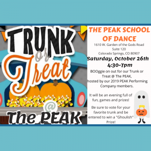 Trunk or Treat at The Peak presented by Trunk or Treat at The Peak at ,