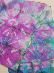 Dip and Dye Silk Scarves presented by Textiles West at TWIL at the Manitou Art Center, Colorado Springs CO