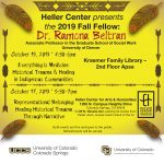 Heller Center Fellow: Native Voices/Representational Belonging presented by Heller Center for Arts and Humanities at UCCS at UCCS - The Heller Center, Colorado Springs CO