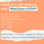 Children's Gift-Making presented by Arc Pikes Peak Region at ,
