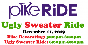 Ugly Sweater Ride & Bike Decorating presented by PikeRide at ,