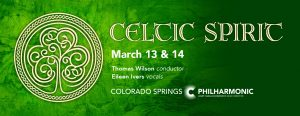 CANCELED: Celtic Spirit presented by Pikes Peak Center for the Performing Arts at Pikes Peak Center for the Performing Arts, Colorado Springs CO