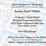 Sunday Bingo presented by  at ,