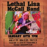 Lethal Lisa McCall Band presented by Gold Room at The Gold Room, Colorado Springs CO