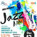 MSA's Jazz Nite presented by Multiple Sclerosis Alliance of Southern Colorado at Third Space Coffee, Colorado Springs CO