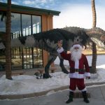 Santa and the Dinos presented by Rocky Mountain Dinosaur Resource Center at Rocky Mountain Dinosaur Resource Center, Woodland Park CO