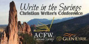 CANCELED: Write in the Springs presented by Space Foundation Discovery Center Virtual Experiences at Glen Eyrie Castle & Conference Center, Colorado Springs CO