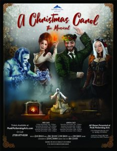 'A Christmas Carol, The Musical' presented by  at ,