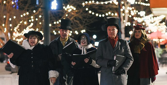 Downtown Holiday Stroll presented by Downtown Partnership of Colorado Springs at ,