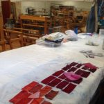 Open Dye Studio presented by Textiles West at TWIL at the Manitou Art Center, Colorado Springs CO