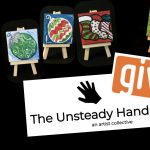 Painting Outside the Lines: A Holiday Party presented by Unsteady Hand at Painting with a Twist Colorado Springs Downtown, Colorado Springs CO