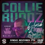 Collie Buddz presented by The Black Sheep at The Black Sheep, Colorado Springs CO