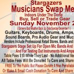Stargazers Musicians Swap Meet presented by Stargazers Theatre & Event Center at Stargazers Theatre & Event Center, Colorado Springs CO