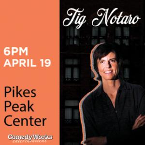 Tig Notaro presented by Pikes Peak Center for the Performing Arts at Pikes Peak Center for the Performing Arts, Colorado Springs CO