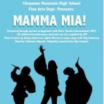 'Mamma Mia!' presented by Cheyenne Mountain High School Auditorium at Cheyenne Mountain High School Auditorium, Colorado Springs CO