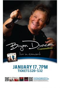 SOLD OUT: Bryan Duncan presented by Tri-Lakes Center for the Arts at Tri-Lakes Center for the Arts, Palmer Lake CO